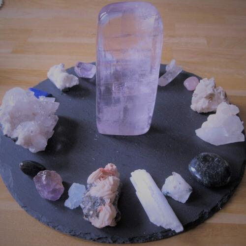 kristalhealing, atalantabloem