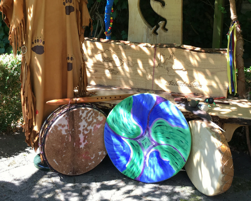 shamanisme, medicijnwiel, aatalantabloem