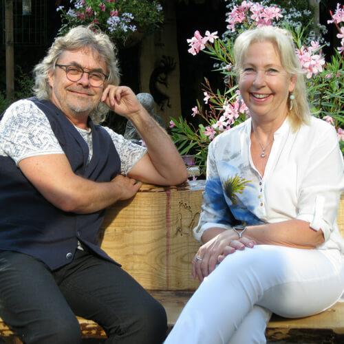 Jeannine en Henk atalantabloem zelfhelendvermogen mediumschap sjamanisme